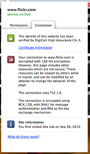 Flickrs HTTPS