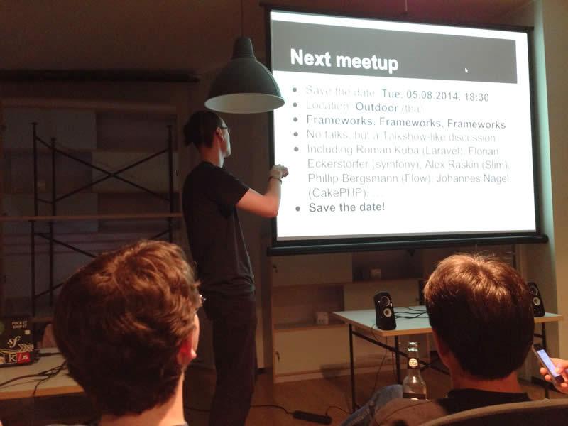 Next meetup