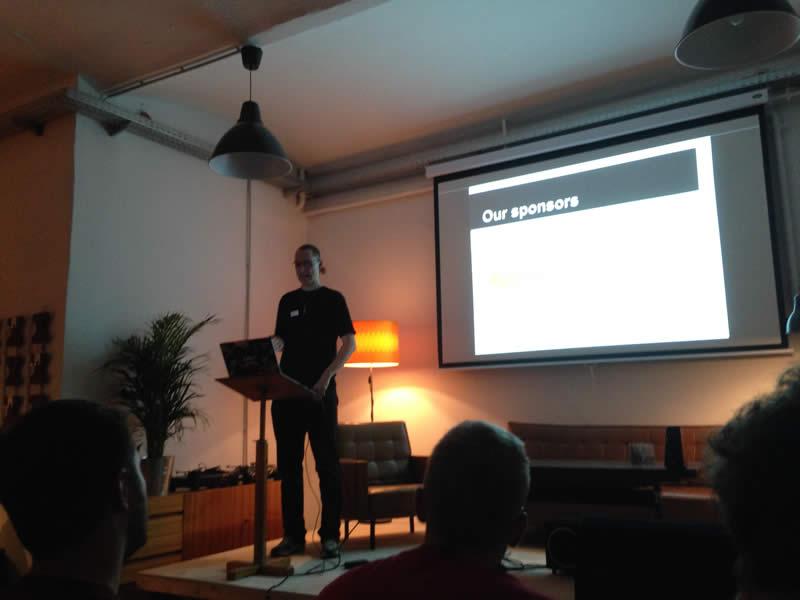 Sebastian Göttschkes organizes the ViennaPHP meetups