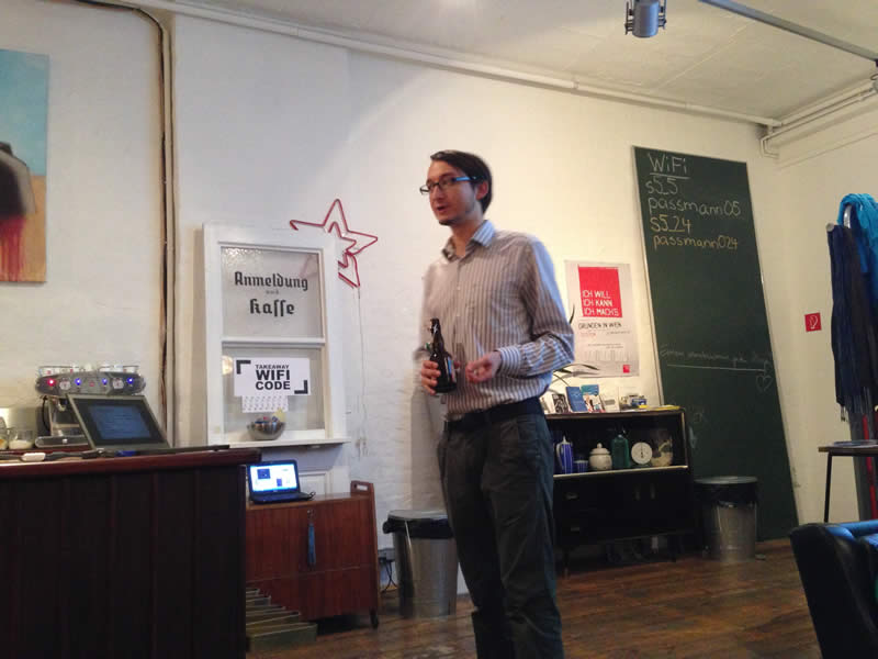 Introduction talk by Andreas Kern