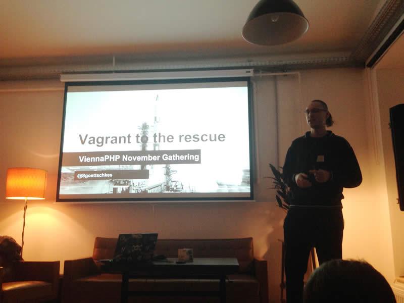 Sebastian Göttschkes about Vagrant